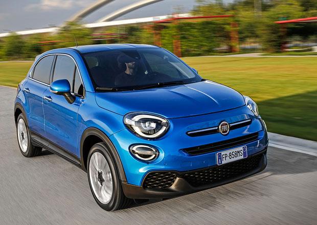 Fiat 500X po faceliftu má nová světla a benzinové turbomotory