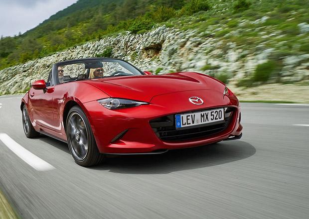 Inovovaná Mazda MX-5 je na českém trhu: Na kolik vyjde nejlevnější miata?