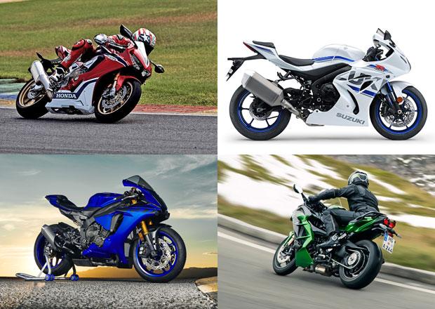 Tohle jsou ty vůbec nejrychlejší  japonské supersporty na dvou kolech