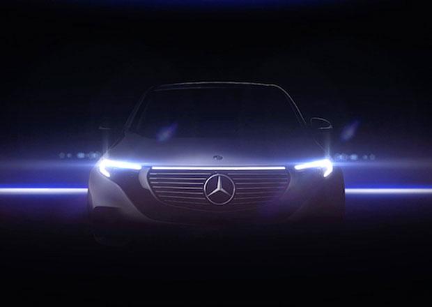 Mercedes-Benz poodhaluje tvary elektrického SUV EQC. Bude hodně jiný!