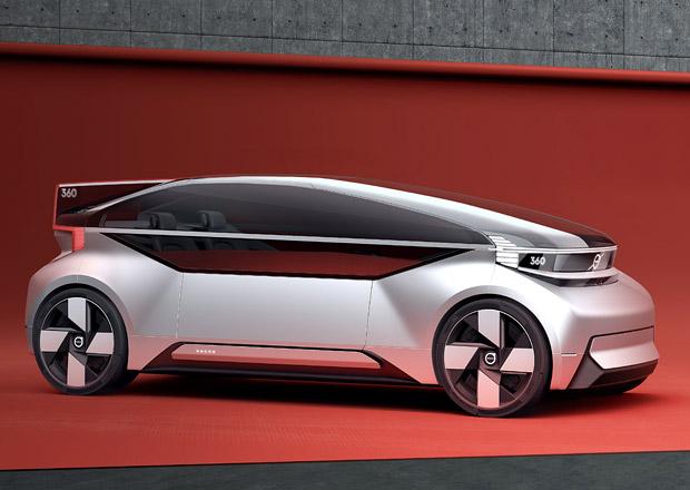 Volvo 360c ukazuje autonomní budoucnost značky. Konkurovat chce letadlům!