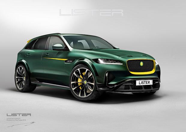 Jaguar F-Pace SVR proměněný v Lister LFP má být nejrychlejší SUV planety