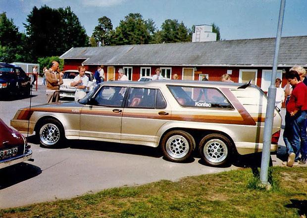Saab 906 Turbo je klasická devítistovka s šesti koly: A ke všemu je to ještě kombík!