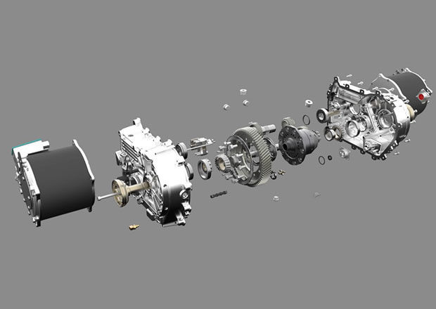 Kreisel Electric prezentuje revoluční převodovku v replice závodního Porsche