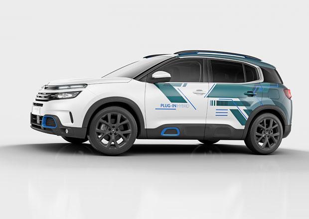 Citroën vyráží na cestu plug-in hybridů. Představuje C5 Aircross Hybrid