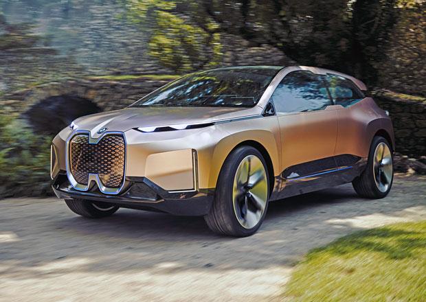 BMW Vision iNEXT: Radost z jízdy i autonomní řízení čistě na elektřinu již v roce 2021