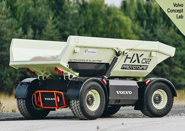Volvo CE testuje autonomní elektrické sklápěče v reálných podmínkách