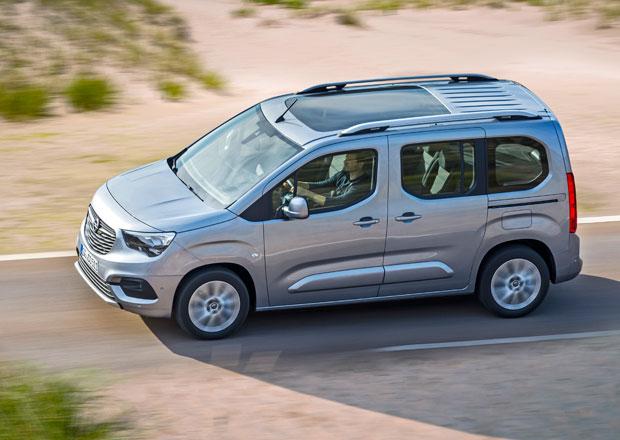 Nový Opel Combo je na českém trhu. Kolik si připlatíte za prodlouženou verzi XL?