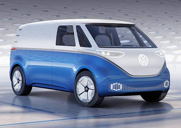 Volkswagen I.D. Buzz Cargo je čistě elektrická vzpomínka na T1