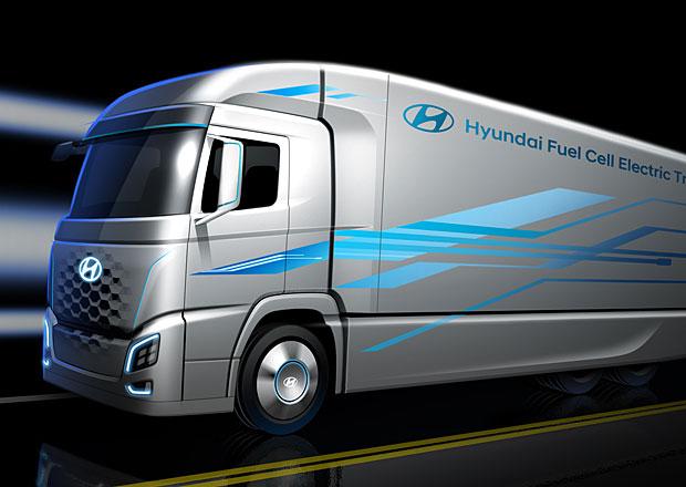 Hyundai a H2 Energy uvedou do provozu flotilu nákladních vozidel s palivovými články