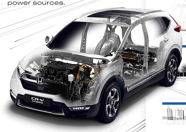Honda CR-V Hybrid je novým pohonem pro japonské SUV: Zapomeňte na IMA!