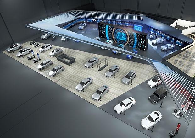 Mercedes odhaluje menu pro pařížský autosalon. Ukáže i novou třídu B