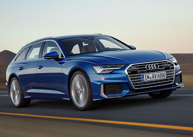 První jízdní dojmy: Audi A6 Avant. Jinak než s mild-hybridem ho nekoupíte