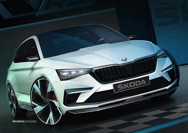 Už jsme naživo viděli Škodu Vision RS. Známe rozměry i techniku! Je to plug-in hybrid.