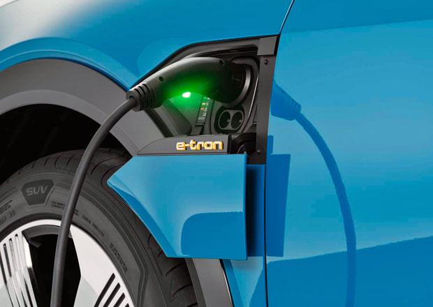 Elektrická Audi budou potřebovat k plnému nabití méně než 12 minut