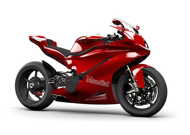Mondial Moto nabídne techniku MotoGP pro běžný provoz