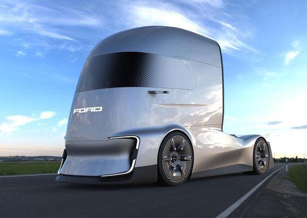 Ford F-Vision je tahač budoucnosti s elektrickým pohonem a autonomním řízením