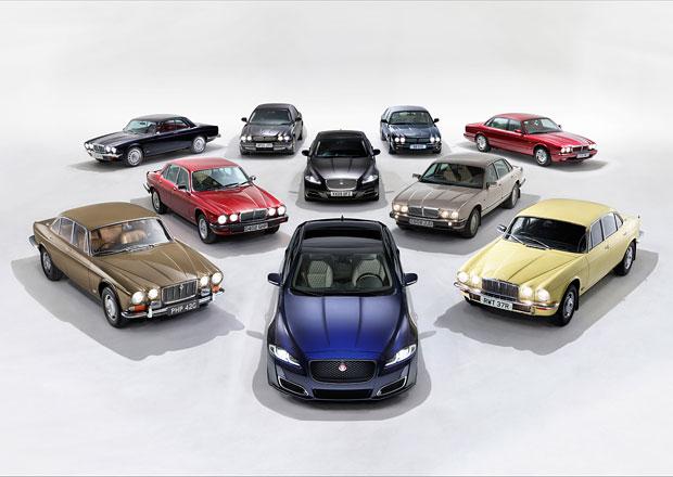 Jaguar v Paříži oslaví 50 let řady XJ se zástupci všech jeho generací