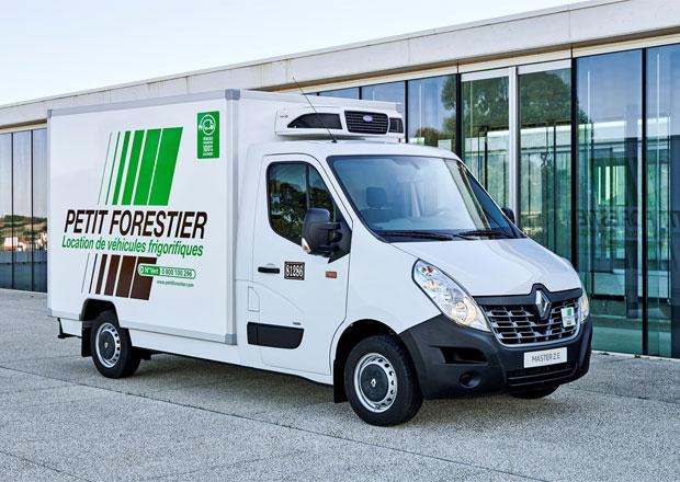 Renault Trucks zahajuje prodej elektřinou poháněného modelu Master Z.E.