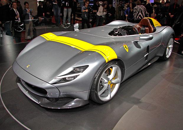 Paříž 2018 živě: Ferrari Monza SP1 je největší kráska autosalonu!