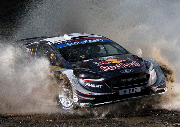 Britská rallye v cíli: Ogier vyhrál a bojuje o titul