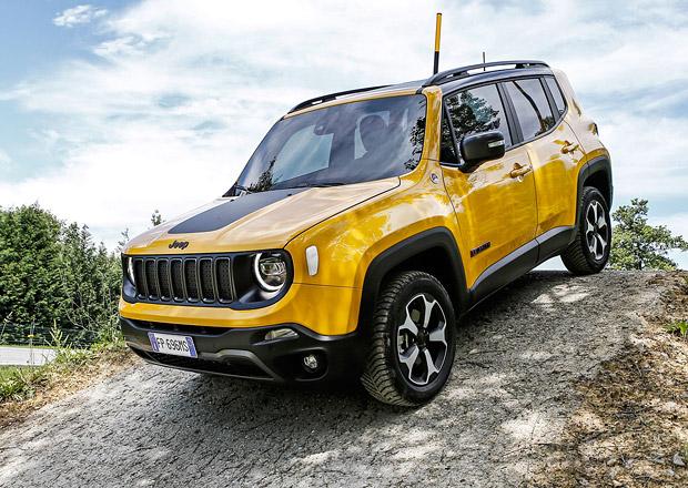 Jeep se chystá na elektrifikaci. Jako první dorazí Renegade plug-in hybrid