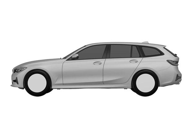 Nové BMW 3 Touring za dveřmi! Chystaný kombík prozradily patentové snímky