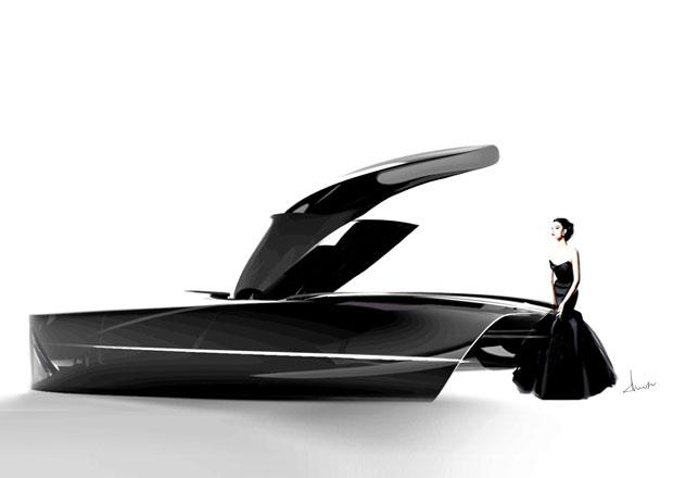 Takto si studenti Royal College of Art představují Bentley v roce 2050