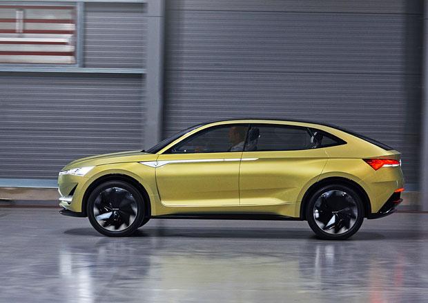 Elektrické SUV Škoda Vision E dorazí i jako kupé