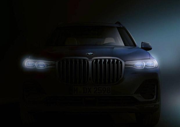 Premiéra BMW X7 je za rohem. Automobilka nás láká první siluetou