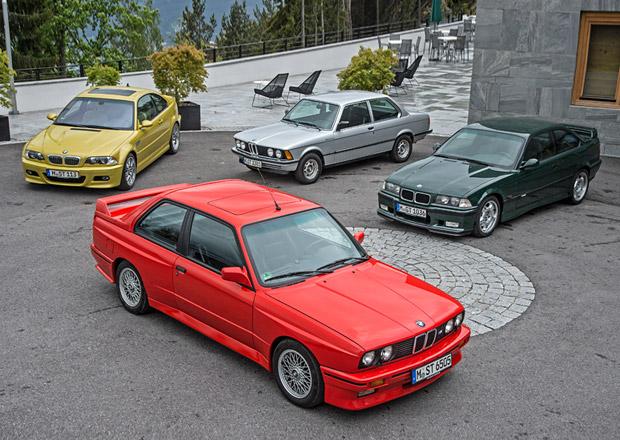 Chronologie BMW řady 3 (1. díl: 1975-2007): První čtyři