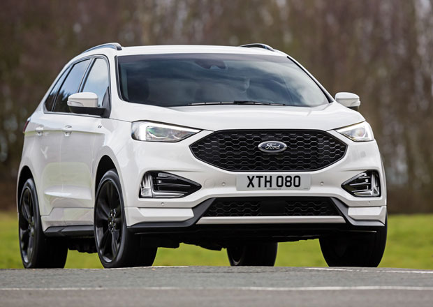 Modernizovaný Ford Edge vstupuje na český trh. Nabízí dva nové turbodiesely EcoBlue
