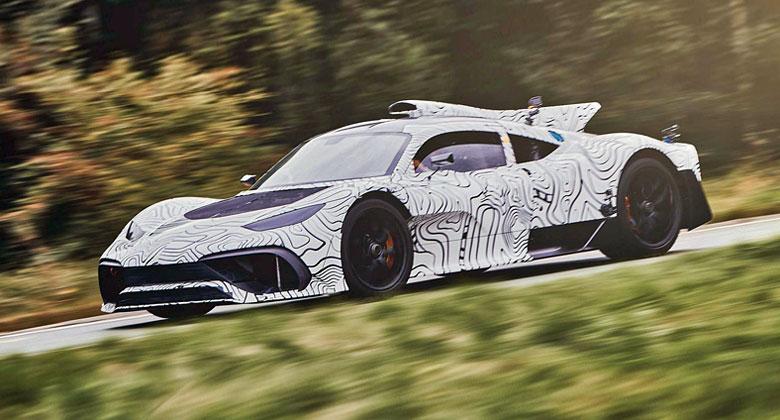 Mercedes ladí supersport One do posledního detailu. Vývoj nabral zpoždění, přiznal šéf AMG