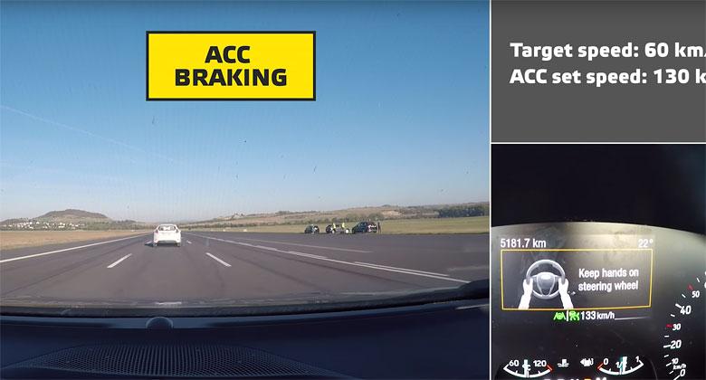 Euro NCAP otestoval elektronické pomocníky řízení. Žádné auto samo neřídí, Tesla řidiče mátne!