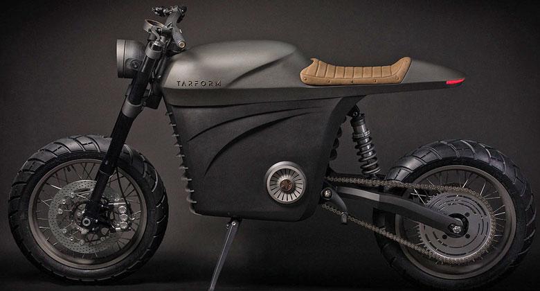 Tarform Motorcycles: I takto může vypadat elektrická motorka
