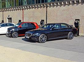 Vyzkoušeli jsme naftové plug-in hybridy Mercedesu: Proč musely také reagovat na nové emisní normy?