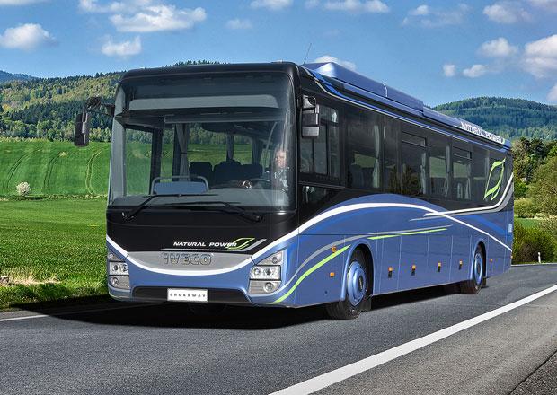 Iveco Bus uvádí nový dálkový autobus Crossway Natural Power