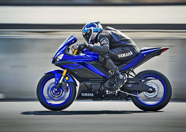 Yamaha YZF-R3 nastupuje s ostřejší vizáží a novým podvozkem