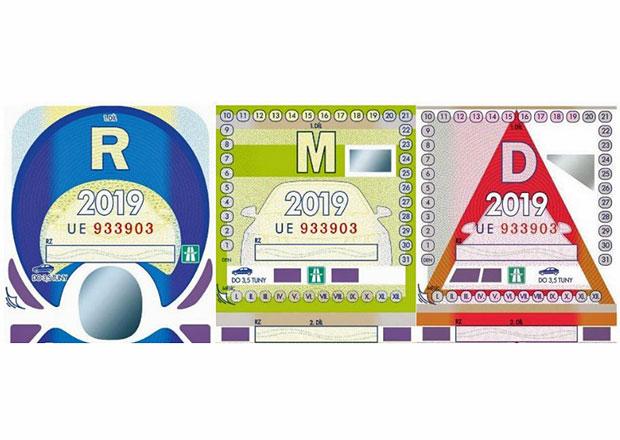 Dálniční známky 2019 vstupují v platnost. Ceny zůstávají, na dalších dálnicích nebudou potřeba