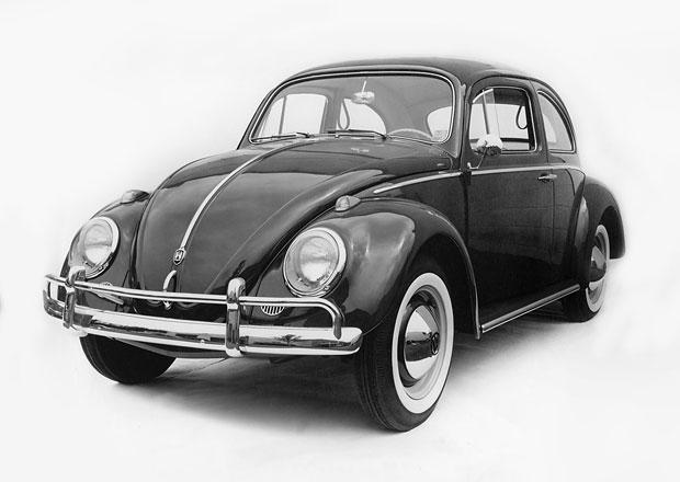 Tajemství Volkswagenu Brouk: Víte, že využíval pro ostřikovač čelního skla rezervní kolo?