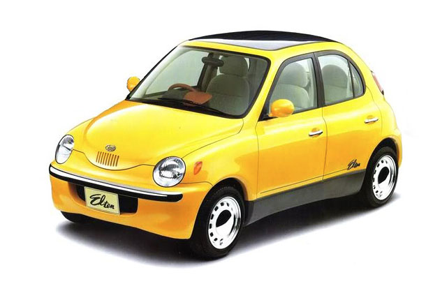Subaru chtělo využít retro módu, než byla in. Moderní 360 měla dokonce hybridní pohon