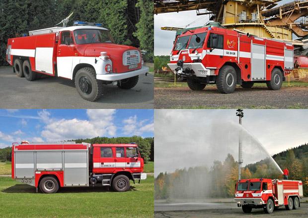 Nejúžasnější hasičské speciály na podvozcích značky Tatra