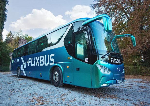 Plně elektrický autobus na dálkových spojích FlixBus v Německu