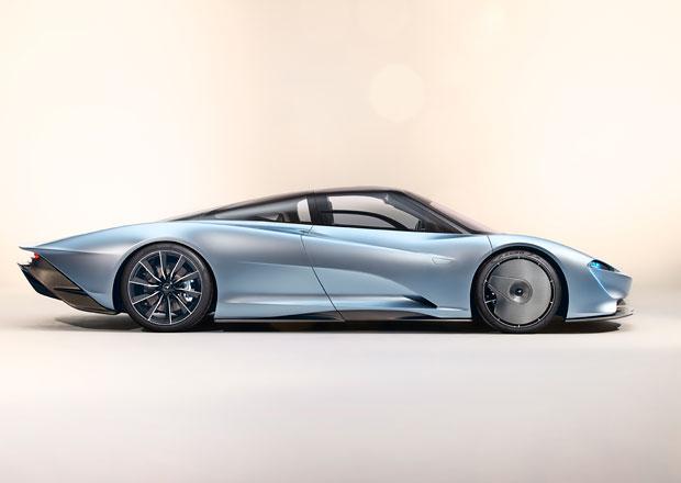 McLaren Speedtail oficiálně: Hyper GT připomínající slavnou F1 umí jet 403 km/h!