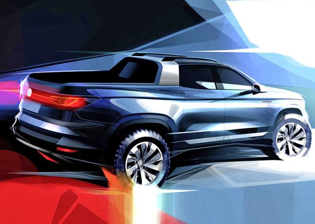VW láká na koncept pick-upu. Vůz s prvkem Felicie Fun hodlá vyrábět!