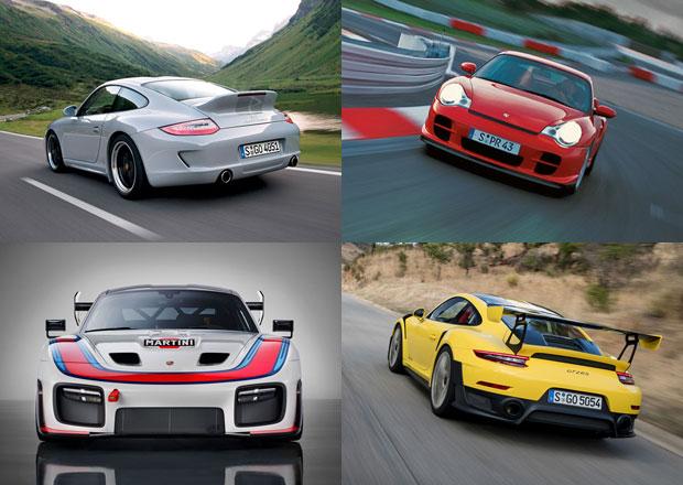 Deset nejostřejších a nejvýjimečnějších kapalinou chlazených Porsche 911