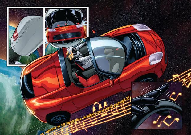 Elon Musk jako hlavní hrdina nového komiksu. Nechybí Tesla ani SpaceX