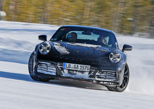 Vývoj a testování nové generace Porsche 911 jde do finále