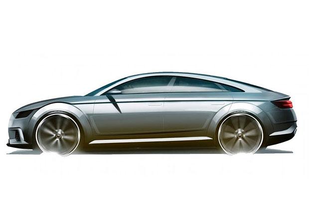 Audi TT projde radikální změnou: Dostane čtyři dveře!