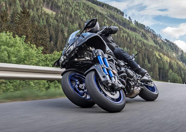 Yamaha Niken GT je tříkolová novinka pro cestovatele